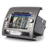 """2005-2012 Toyota Tacoma In-dash DVD GPS Navigation Stereo 7"""" Touch Screen Sirius-Ready Radio Bluetooth Hands-free Deck A2DP Music Streaming USB SD MP3 AV Mutltimedia Receiver CD Player iPod-Ready OEM Fit Copyrighted NNG Navteq Maps Virtual CD Changer"""