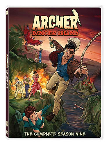 Archer: Danger Island Season 9 (Archer Tv Series Dvd)