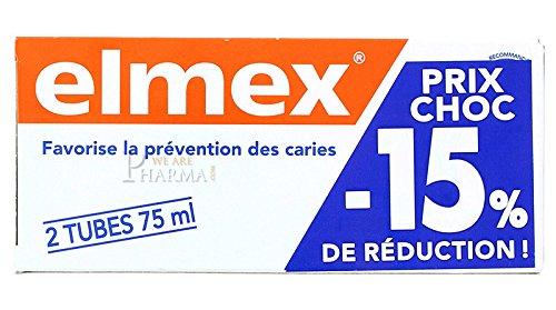 Elmex Decays Prevention Toothpaste 2x75ml