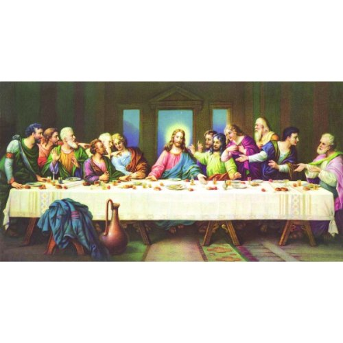 Religious Puzzle - The Last Supper a 1000-Piece Jigsaw Puzzle by Sunsout Inc.