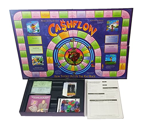 Rich Dad CashFlow 101 + 202 Board Game by The Rich Dad Company (Image #2)