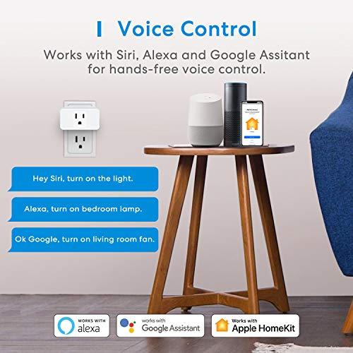 Meross-Smart-Plug-Mini-16A-Reliable-WiFi-Support-Apple-HomeKit-Siri-Alexa-Echo-Google-Assistant-Nest-Hub-and-SmartThings-App-Control-Timer-No-Hub-Needed-4-Pack