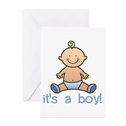 Amazon Cafepress New Baby Boy Cartoon Greeting Cards