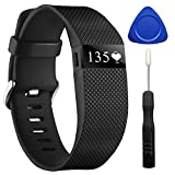 CreateGreat For Fitbit Charge HR, Replacement Band for Fitbit Charge HR 1, Fitbit Charge HR Band,Charge HR Accessories Strap, Fitbit Charge HR Wristband,Large and Small