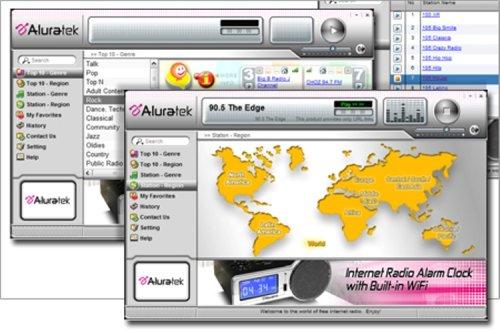 Aluratek AIRJ01F USB Internet Radio Jukebox