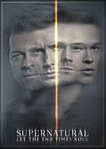 Supernatural Season 14 Photo Magnet