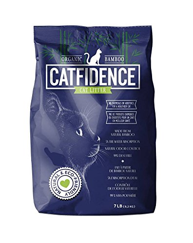 Catfidence Organic Bamboo Cat Litter CATBAM059 Cat Litter, 7 lb