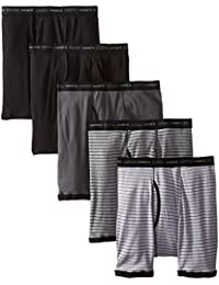Hanes Men's Sports-Inspired Boxer-Brief (Pack of Five)...