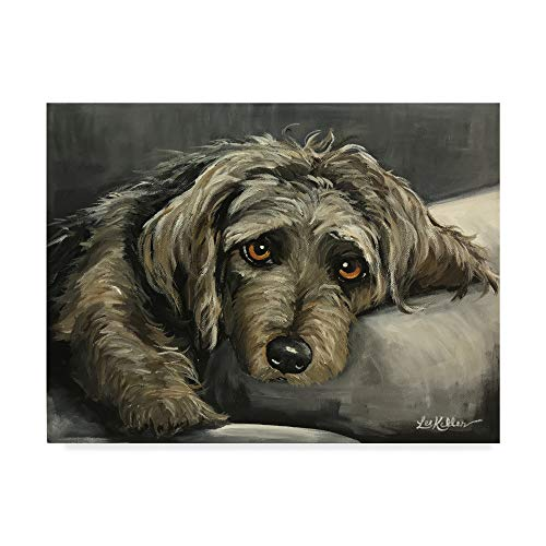 Trademark Fine Art Cairn Terrier Portrait by Hippie Hound Studios, 14x19