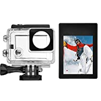D&F 2.0 inch HD LCD Screen Monitor External Video Display Backpack for GoPro Hero 4/3+/3