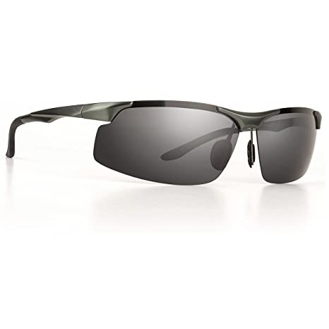0b9798725a9 SOLARA  Alto  Designer Polarised Sunglasses for Men or Women with  Unbreakable Lightweight Metal Frame