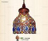 Bohemian crystal chandelier restaurant bar window pendant lamp LO118534PY