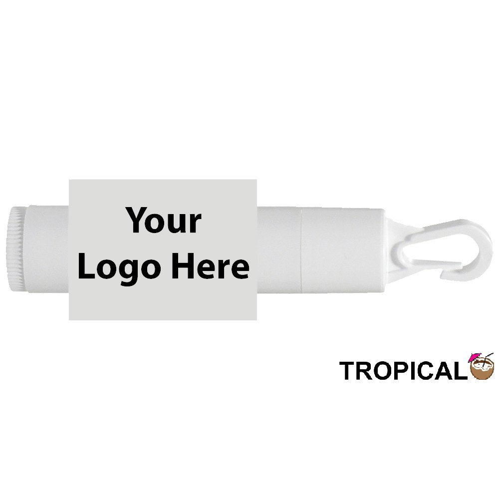 Spf15 Lip Balm With Travel Cap - 100 Quantity - $1.10 Each - PROMOTIONAL PRODUCT / BULK / BRANDED with YOUR LOGO / CUSTOMIZED.