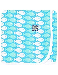 KicKee Pants baby-boys Baby Essentials Swaddling Blanket Boys
