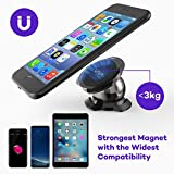 VAVA Magnetic Phone Holder for Car Dashboard, Car Phone Mount with a Super Strong Magnet for iPhone 7 / 7 Plus / 8 / 8 Plus / X / Samsung Galaxy S8 / S7 / S6 and More - Black