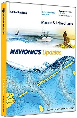 Navionics Updates Global Regions Marine and Lake Charts on SD MSD