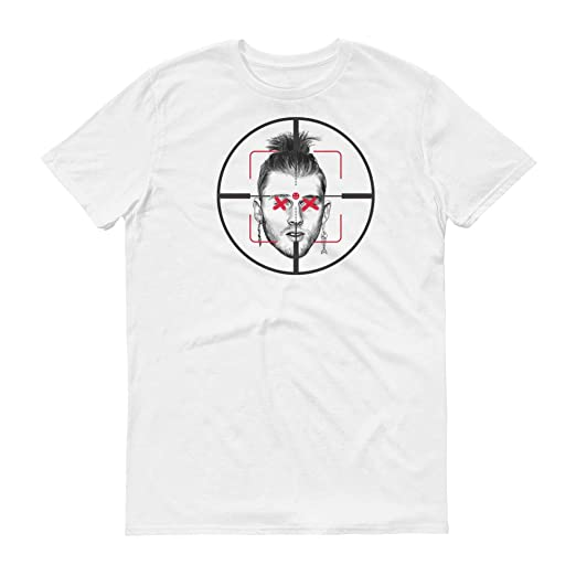 6056cbe7fe077 Amazon.com: Eminem Killshot Scope T Shirt Kamikazie White: Clothing