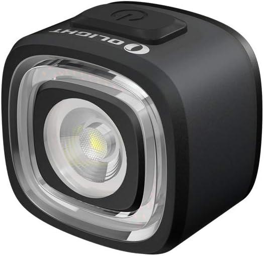 Tidusky OLIGHT RN 120 - Lámpara trasera para bicicleta (120 lúmenes, LED, IPX6, impermeable, USB, recargable, luz trasera roja, ultra brillante y fácil de instalar para ciclismo)