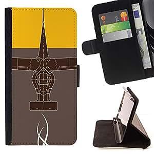 Momo Phone Case / Flip Funda de Cuero Case Cover - Diseño abstracto;;;;;;;; - Samsung Galaxy Note 4 IV