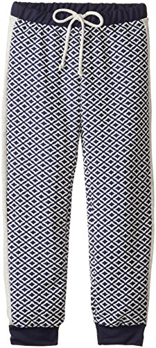 kiddo-big-girls-textured-diamond-jog-pant-with-tux-stripe-navy-medium
