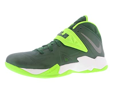 b80731d9e0a0a Amazon.com: Nike Zoom Soldier VII TB - Lebrons Green 11: Shoes