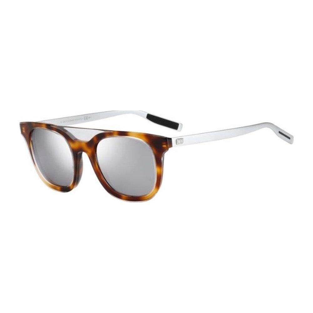 0163e1e69d820 Dior Homme BLACKTIE200S-N16-DC-50 Mens Black Tie 200 S N16 DC Crystal  Havana Sunglasses  Amazon.co.uk  Clothing