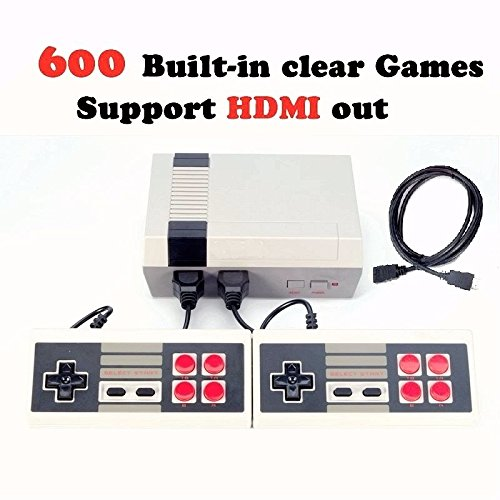 HDMI HD Video Game Entertainment System Classic Mini TV Game Console With Built in 600 Games,2pcs Controllers