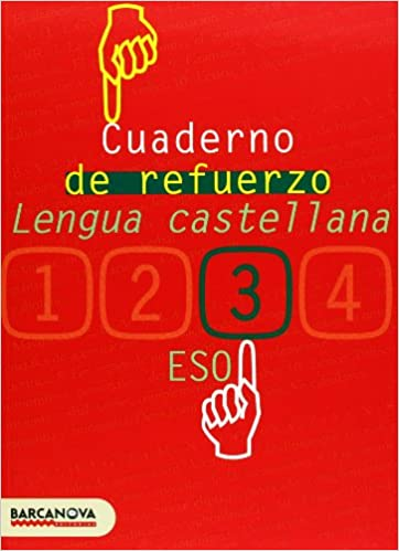 Cuaderno de refuerzo de lengua castellana 3 Materials Educatius - Eso - Lengua Castellana - 9788448917241: Amazon.es: Francisca Ezquerra Lezcano: Libros