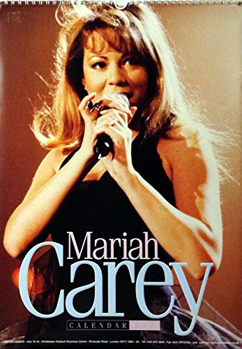 1999 Mariah Carey Calendar - Unopened Brand New Collectible Shrink-wrapped BIG - Shrink Binding Wrapped