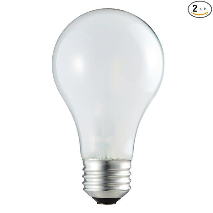 Philips 409839 EcoVantage 29-Watt (40-Watt Equivalent) A19 Soft White Light Bulb, 2-Pack - Incandescent Bulbs - Amazon.com