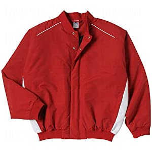 Amazon.com : Russell Athletic Adult Full Snap Baseball Jacket ...