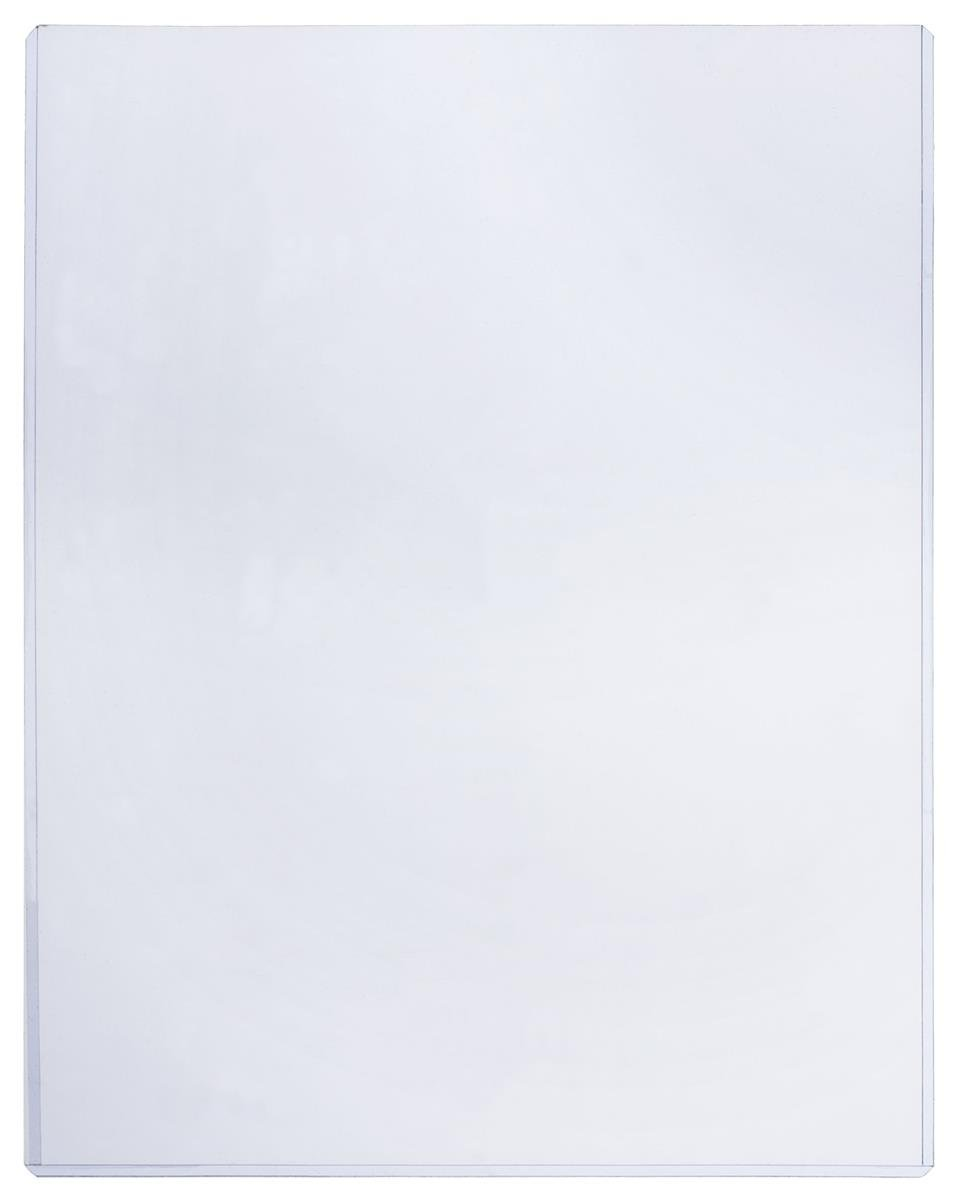 Displays2go Plastic Sign Sleeve, Document Holder, 8.5 x 11-Inch, Pack of 25, Clear (PVCP8511) by Displays2go