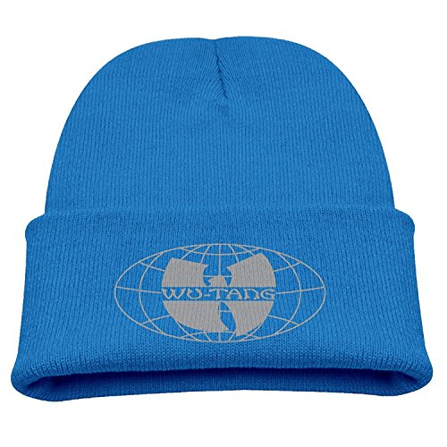 Price comparison product image Wu-Tang Clan Wu-Tang Forever Child Hats Cool Beanies Hats Small Cap RoyalBlue