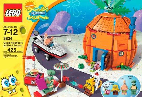 Buy spongebob legos bikini bottom