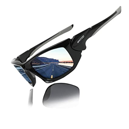 Wantdo Gafas de Sol Inastillable Polarizado UV 400 TR 90 ...
