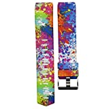 VESNIBA Colorful New Fashion Sports Silicone Bracelet Strap Band For Fitbit Charge 2 (S)