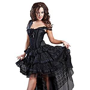 Burleska Womens Ophelie Steampunk Corset Dress
