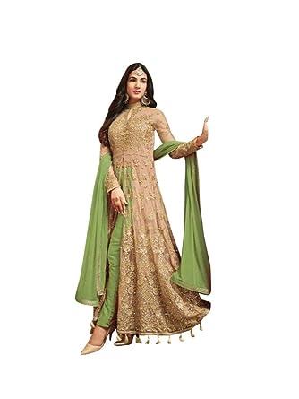 636e56e1910 Women s Anarkali Salwar Kameez Designer Indian Dress Ethnic Party  Embroidered Gown
