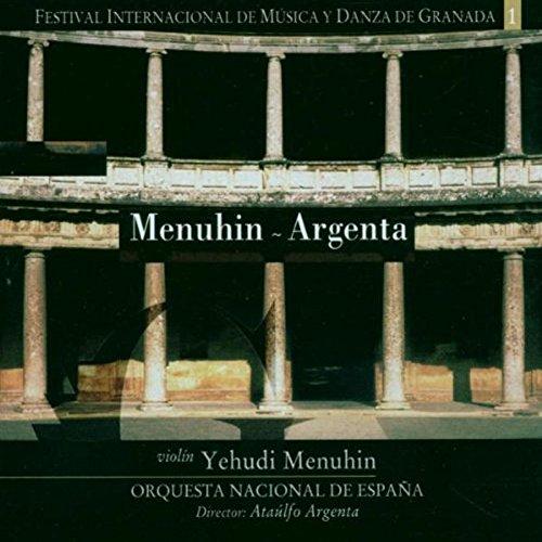 Festival Internacional de Musica y Danza de Granada: Yehudi Menuhin - Orquesta Nacional de Espana , Carl Maria von Weber - Johannes Brahms - Richard Strauss: Amazon.es: Música