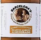 Barcelona's All Natural, Gluten Free, Mole De Almendras (Almendrado) Almond Gourmet Cooking Sauce, 2 gallon pourable pouch