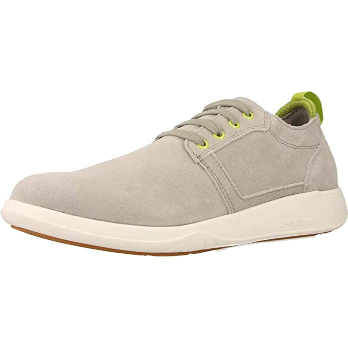 Lumberjack SM29705 Gris - Chaussures Baskets basses Homme