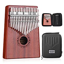 GECKO Kalimba 17 Keys Thumb Piano builts...