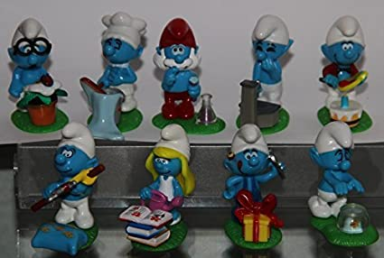 Amazon.com: cifras de cifras de los Pitufos – 2008 Conjunto ...