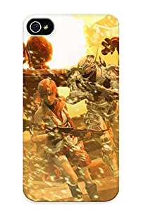 Awesome Case Cover/iphone 4/4s Defender Case Cover(metroid Video Games Samus Aran Mass Effect Halo Master Chief Devil Dead Space Final ) Gift For Christmas