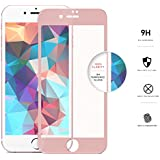 ZIZO iPhone 7 Screen Protector [Edge to Edge] Curved Tempered Glass to [Fully Cover] w/ [9H Hardness] Bubble Free...