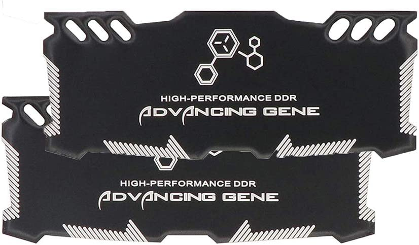 Memory RAM Cooling Graphite Silica Gel Air Vest Fin Heat Sink Radiation Dissipate for DIY Laptops DDR3 DDR4 Game MOD Overclocking