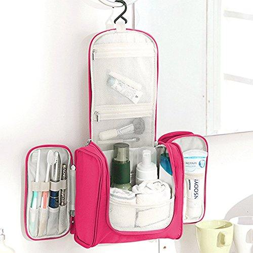 Hanging Toiletry Bag Portable Waterproof Travel Cosmetic Makeup Bag