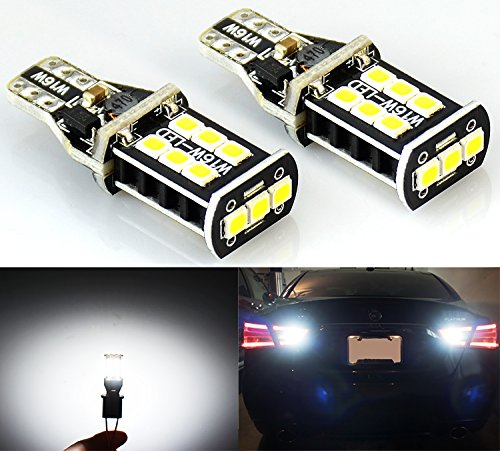 912 Bulb (JDM ASTAR 800 lumens Extremely Bright Error Free 921 912 PX Chipsets LED Bulbs For Backup Reverse Lights, Xenon)