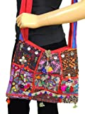 Gypsy Handcrafted Shoulder Bag Kutch India Ethnic Fashion Accessory Mirror Sling