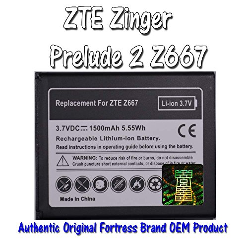 zte prelude phone battery - 6